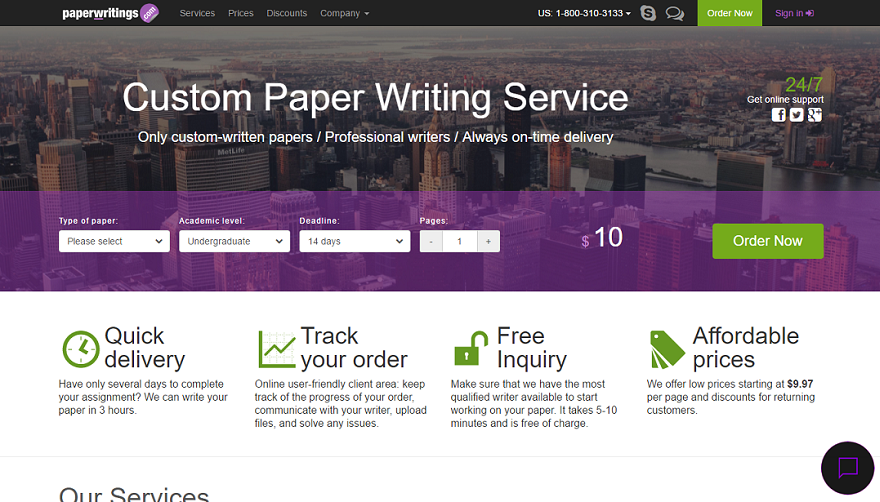 Our custom paper writers cover most fields!