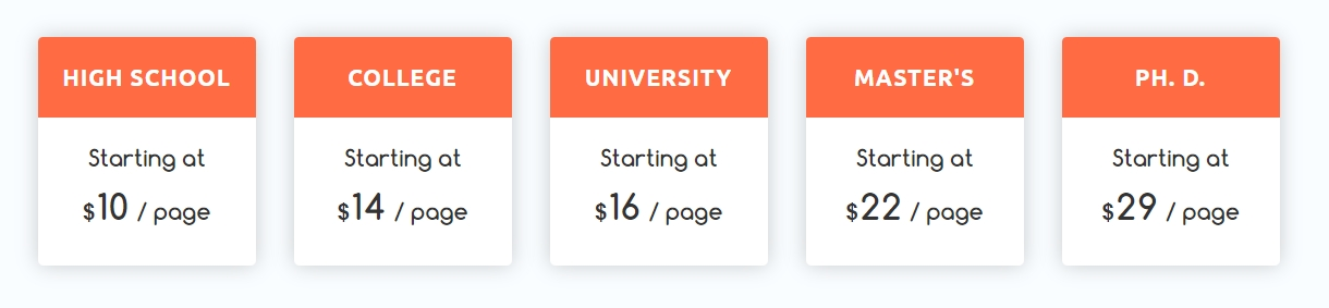 domywriting.com prices