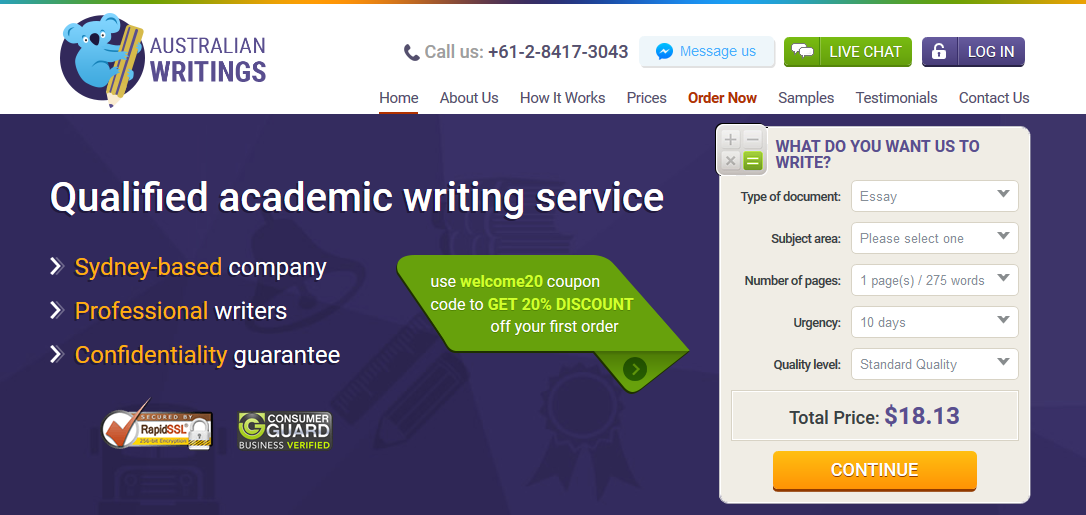 Essay writing service australia reviews